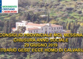 CONSIGLIO PROVINCIALE chusura anno sociale